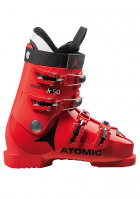 Children ski boots Atomic Redster JR 50 Re/Bl