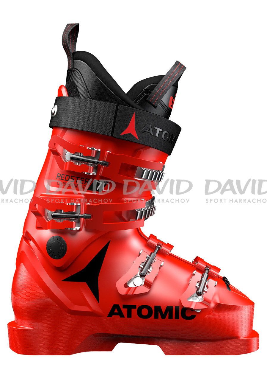 detail Children's downhill shoes Atomic Redster Club Sport 70 Lc Red/Black