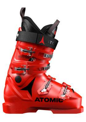 Children's downhill shoes Atomic Redster Club Sport 70 Lc Red/Black