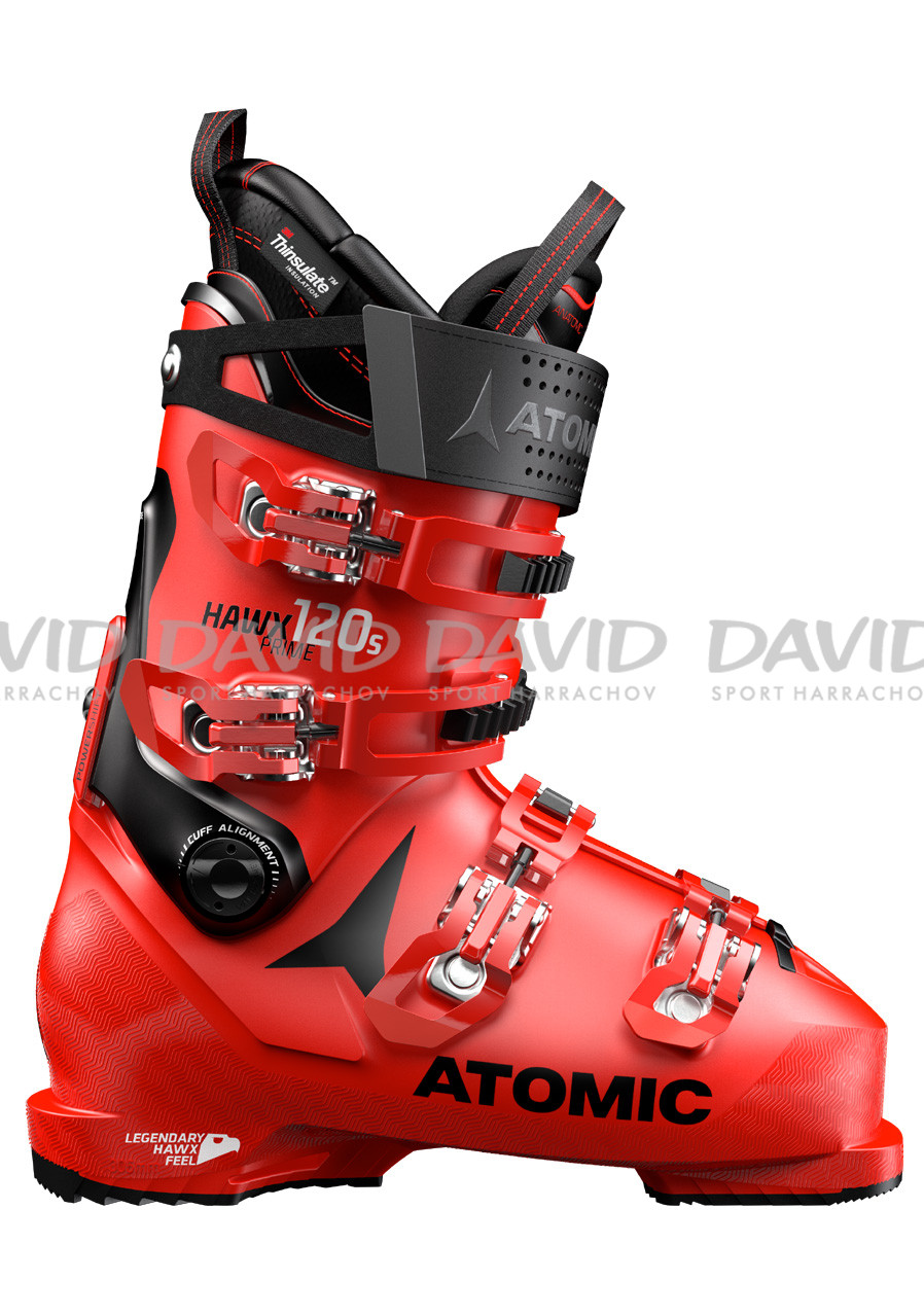 Downhill shoes Atomic Hawx Prime 120 S Red/Black