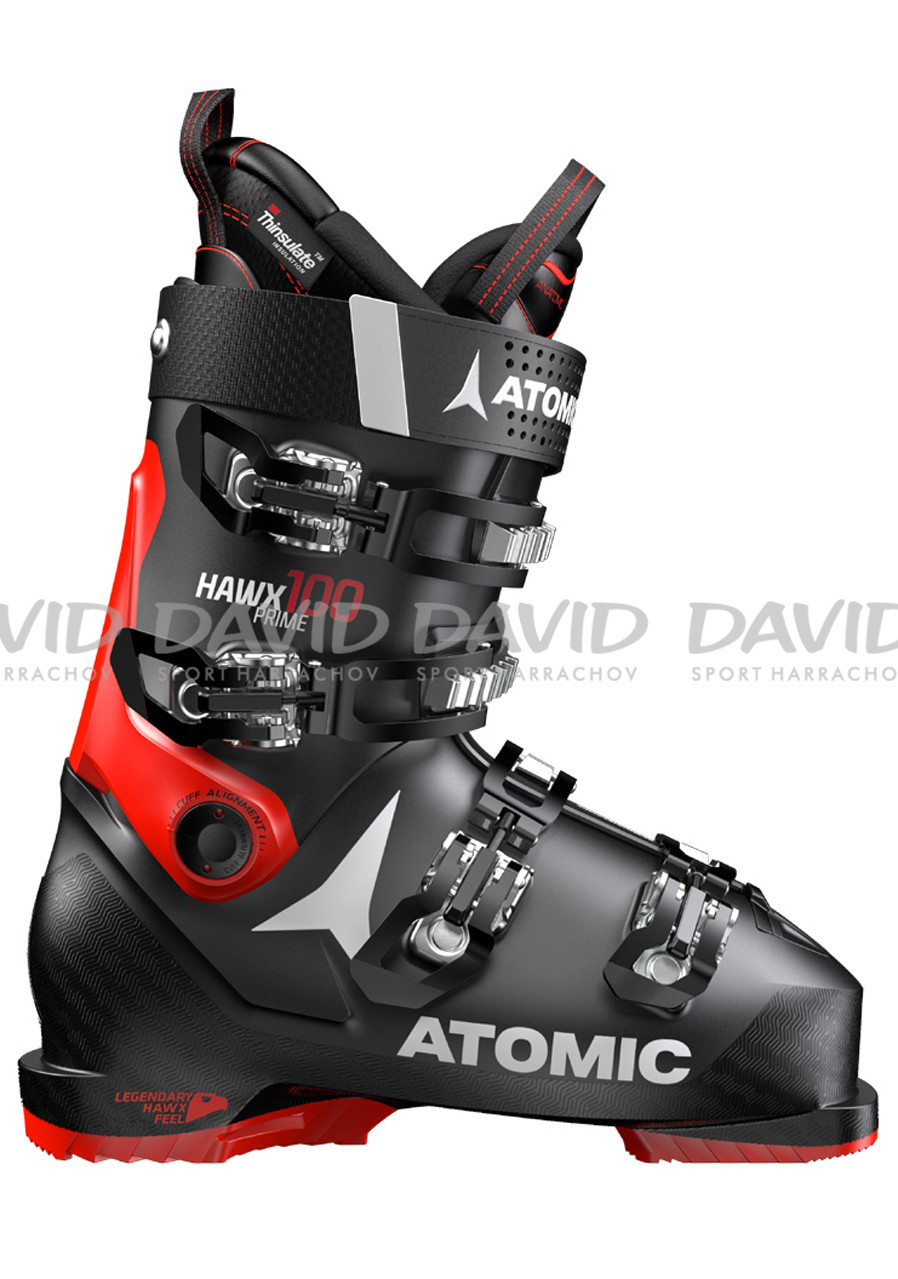 náhled Downhill shoes Atomic Hawx Prime 100 Black/Red