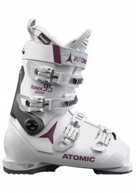 Atomic Hawx Prime 95 W White / Purple Women's Downhill Shoes