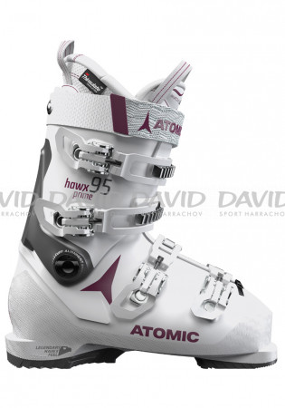 detail Atomic Hawx Prime 95 W White / Purple Women's Downhill Shoes