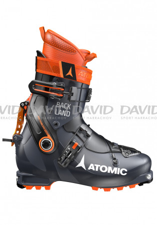 detail Skialpinist shoes Atomic Backland Dark Blue/Orange/Black