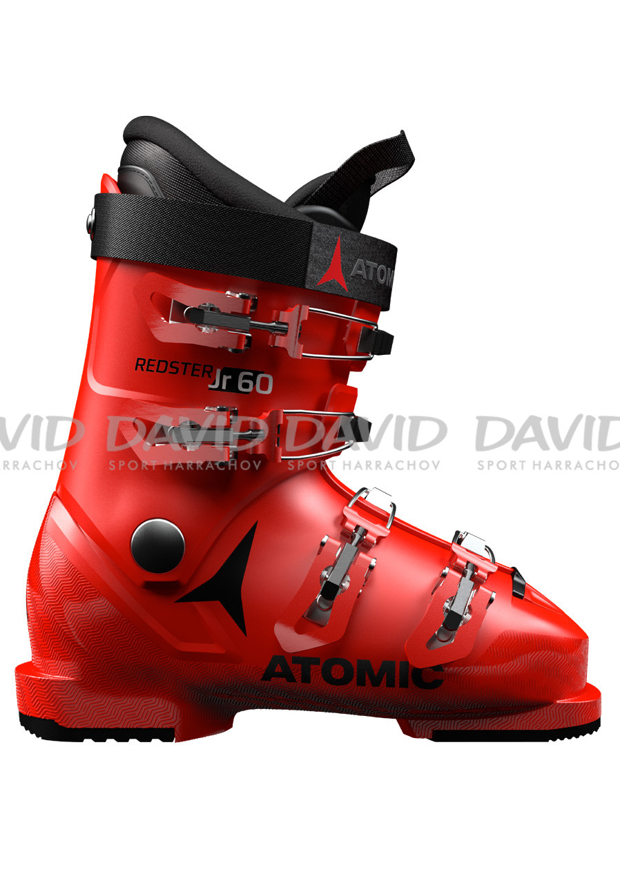 Children's downhill shoes Atomic Redster Jr 60 Red/Black