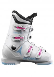 09a7a02b0637 Children s downhill shoes Atomic Hawx Girl 4 White Denim Blue ...