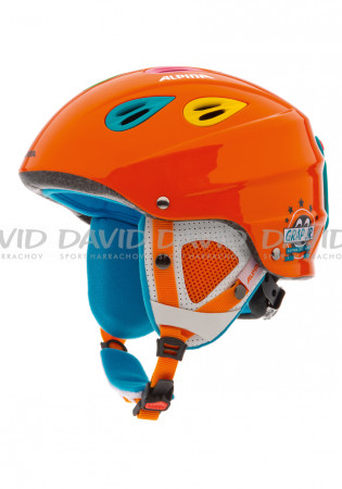 detail Child Alpina Grap JR Alpine Helmet