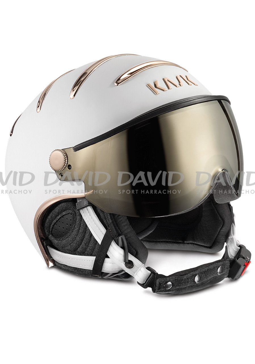 KASK CHROME WHITE/PINK GOLD