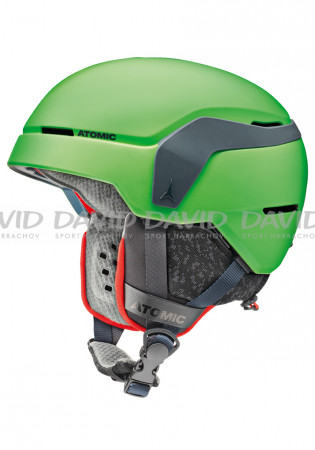 detail Children's ski helmet Atomic Count Jr green