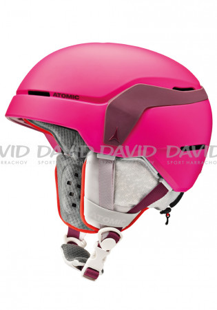 detail Children's ski helmet Atomic Count Jr Berry