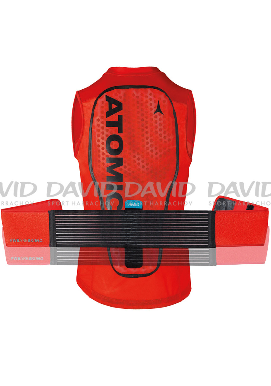 náhled Spine protector Atomic Live Shield Vest Amid Red
