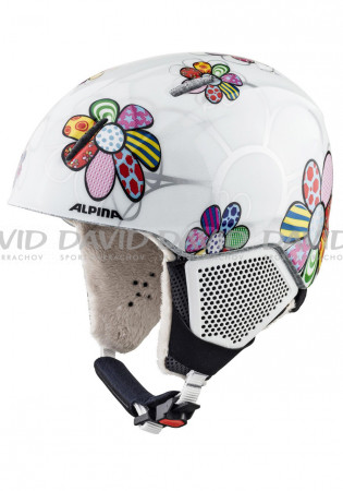 detail Child ski helmet Alpina Carat LX Patchwork