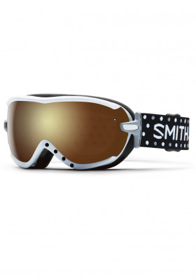 SMITH VIRTUE SPH WHT DOTS/GOLD SOLX MIRR