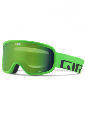 GIRO CRUZ BRIGHT GREEN WORD MARK LODEN GREEN