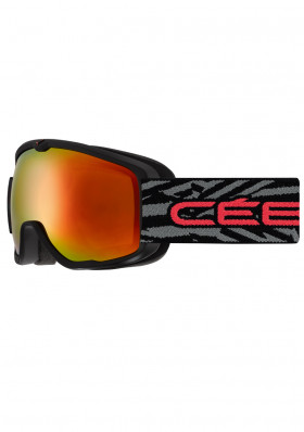 CEBE ARTIC Matt Black Red