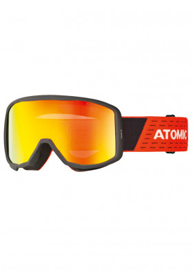 Children's ski goggles Atomic Count Jr Cylindrical Bla/Red