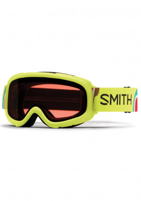 Children's downhill goggles Smith Gambler Air RC 36 Rose