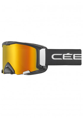 Cébé Super Bionic Mat Black/wht/orange