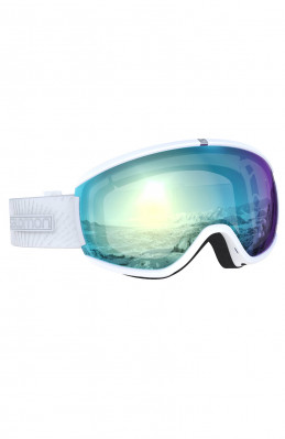 Women's downhill goggles Salomon iVY Photo Sigma Wh/aw Sky Blue