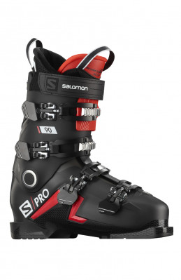 Salomon S/PRO 90 Black/red/belluga