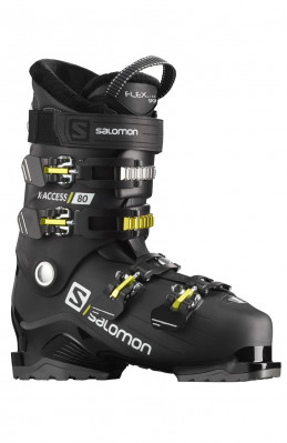 Ski boots Salomon X ACCESS 80 Black / acid Gree / W