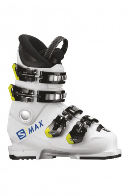 Kids ski boots Salomon S / Max 60T White / Acid Green