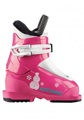 Children's ski boots Atomic Hawx Girl 1 Pink / White
