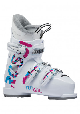 Kids ski boots Rossignol Fun Girl J3 white