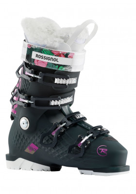 Women's downhill shoes Rossignol Alltrack 80 W black / purple