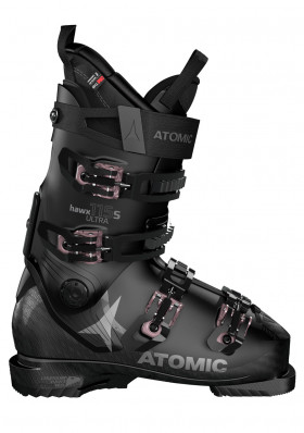 Women's downhill boots Atomic HAWX ULTRA 115 S W Black / Rose Gold