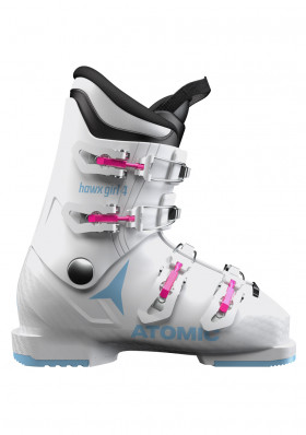 Children's downhill boots Atomic Hawx Girl 4 White / Denim Blue