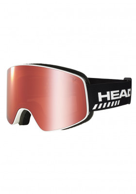 Downhill goggles Head HORIZON TVT RACE red + SpareLens