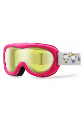 Kids ski goggles Hatchey Clown Pink / Silver