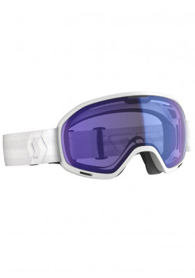 Downhill goggles Scott Unlimited II OTG White illum blue chrome