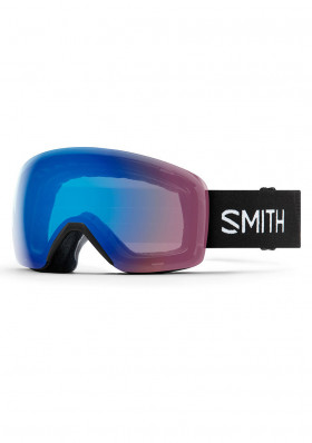 Smith Ski Goggles Black / Storm Rose Fla ChroPop