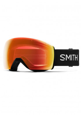 Smith Ski Goggles XL Black Everyd Red ChroPop