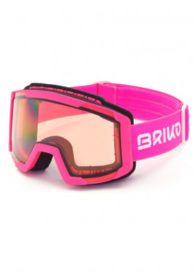 Children downhill glasses Briko LAVA FIS P1 - PINK-P1-glasses
