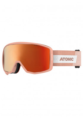 Children's ski goggles Atomic Count Jr Cylindrical Peach