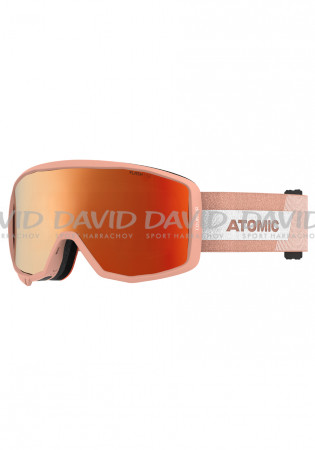 detail Children's ski goggles Atomic Count Jr Cylindrical Peach