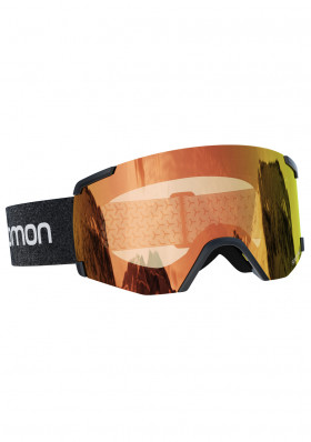 Ski goggles Salomon S / VIEW PHOTO Bk / AW Red