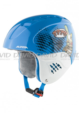 detail Kids ski helmet Alpina Carat set Disney Donald