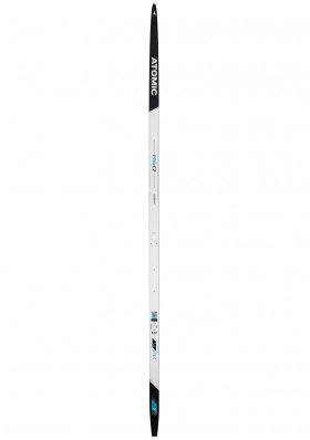 Cross-country skis Atomic Pro C2 Skintec L - Med Wh/Bk/M
