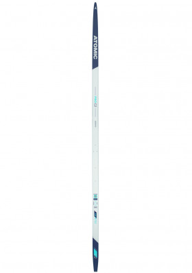 Cross-country skis Atomic Pro C2 Skintec L - Hard Wh/Bk