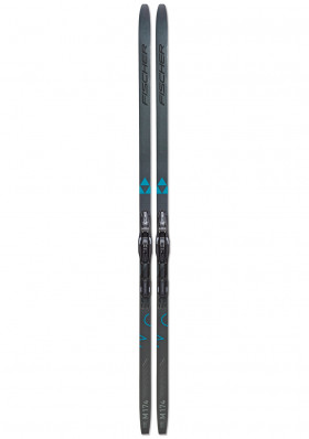 Cross-country ski FISCHER TWIN SKIN CRUISER EF + CONTROL STEP IN