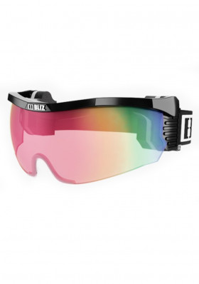 Cross-country ski goggles BLIZ PROFLIP MAX Small BLACK Pink / Red Multi