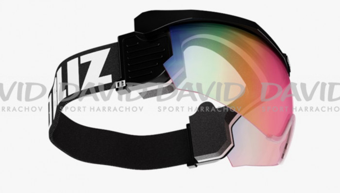 detail Cross-country ski goggles BLIZ PROFLIP MAX Small BLACK Pink / Red Multi