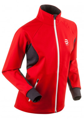 Ladies softshell jacket Bjorm Daehlie Beito red
