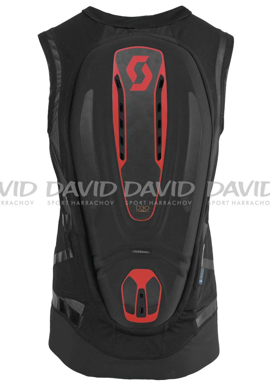 Scott Vest Protector Actifit Pro Blk/red