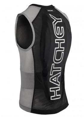 Hatchey Vest Air Fit Black / Gray Back Protector