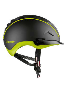 CASCO ROADSTER-TC BLACK/LIME Bike helmet